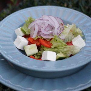 Овочевий салат в Парк-кафе Маріанна